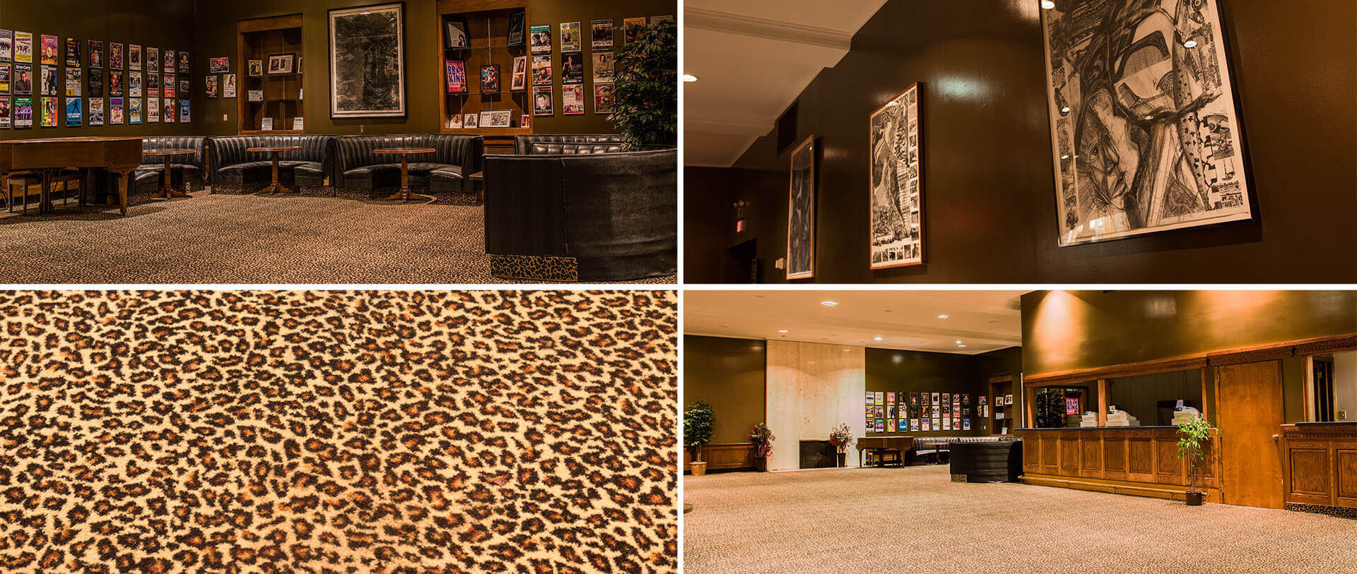 leopard lounge at the temple theatre