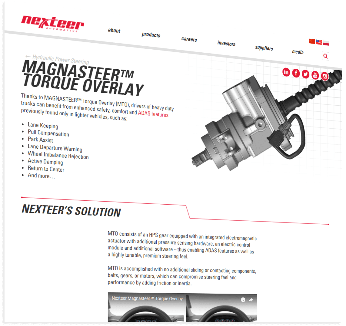 page from nexteer.com